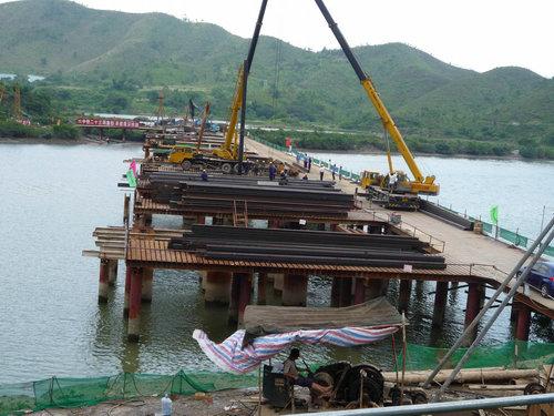 水上平台施工-水陆平台-广州市黄埔区嘉胜通拉森钢板
